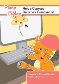Piano-laylee-help-copycat-become-creative-cat-carmela-n-curatola-knowles-paperback-cover-art